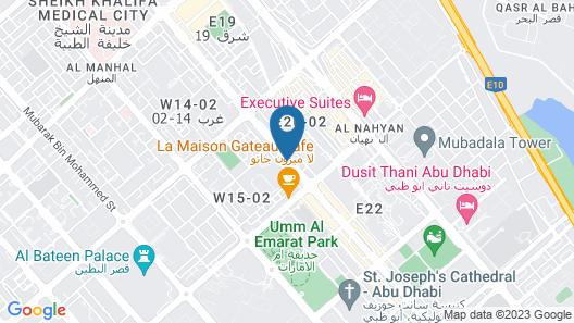 Murjan Asfar Hotel Apartments Map