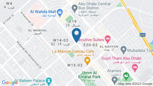 Jannah Place Hotel Apartment Map