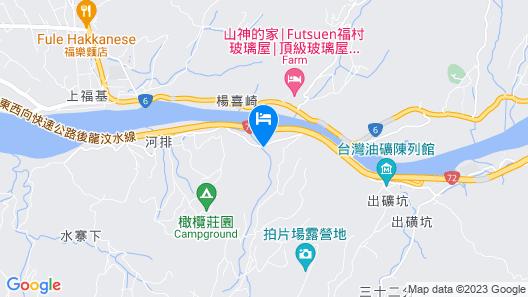 Lian Lian Shanshui B&B Map