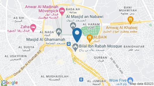 Madinah Movenpick Hotel Map
