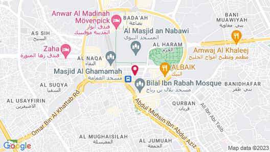 Pullman Zamzam Madina Map