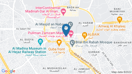 Nusk Al Madinah Hotel Map