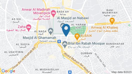 Rua Al Madinah Hotel Map