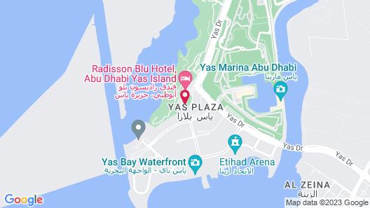 Crowne Plaza Abu Dhabi Yas Island, an IHG Hotel Map