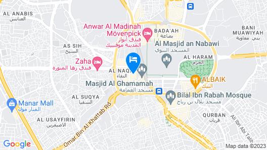 Al Mukhtara Golden Map