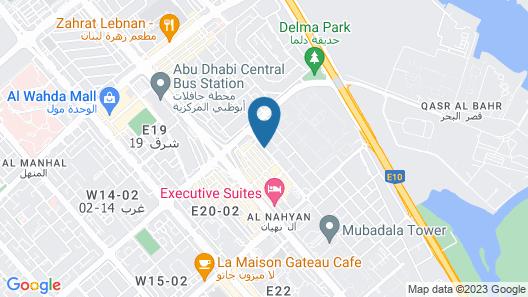 Al Diar Sawa Hotel Apartments Map