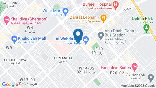 Marriott Hotel Downtown, Abu Dhabi Map