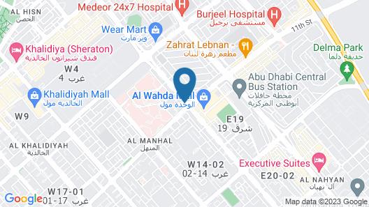 Marriott Executive Apartments Downtown Abu Dhabi Map