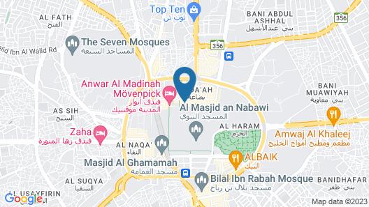 Elaf Grand Al Majeedi Map