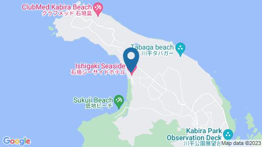 Ishigaki Seaside Hotel Map