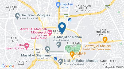 Golden Tulip Al Zahabi Map