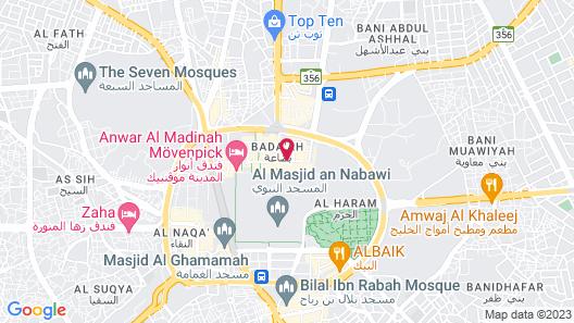 Dallah Taibah Hotel Map