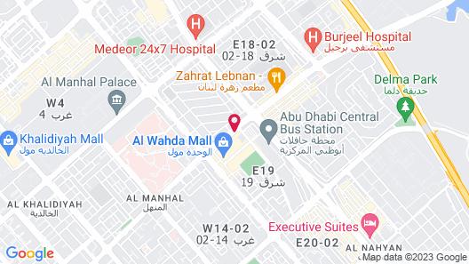 Grand Millennium Al Wahda Map