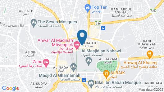 Millennium Al Aqeeq Hotel Map