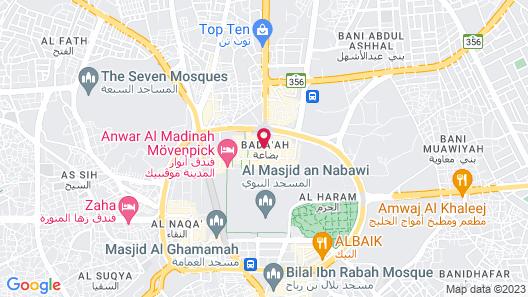 Al Nokhba Royal Inn Map