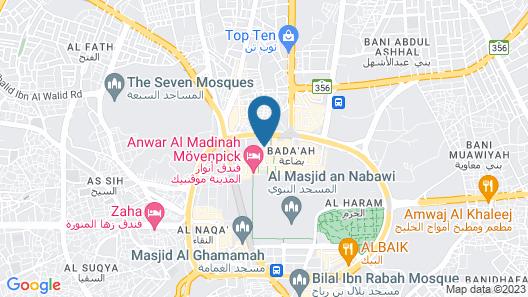 Zowar International Hotel Map