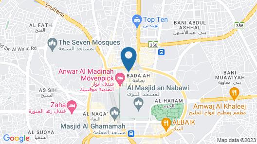 Al Ansar New Palace Hotel Map