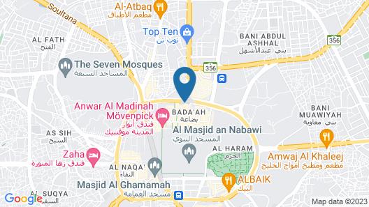 InterContinental Dar Al Hijra Madinah, an IHG Hotel Map