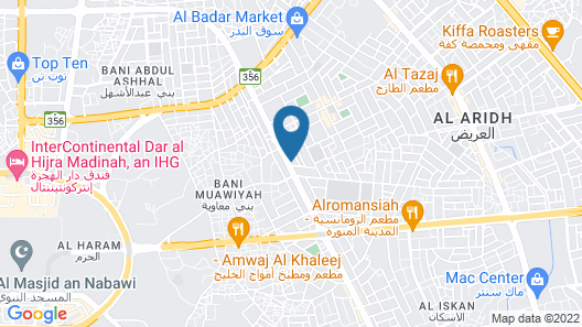 Al Eairy Furnished Apt Al Madinah 3 Map