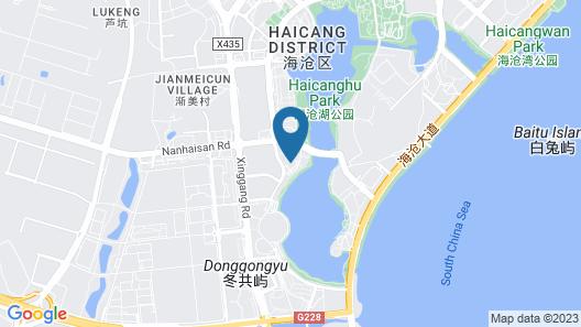 DoubleTree by Hilton Hotel Xiamen - Haicang Map