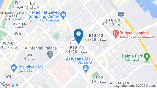 Mourouj Hotel Apartments Map