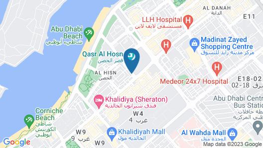 Platinum Hotel Apartment Map
