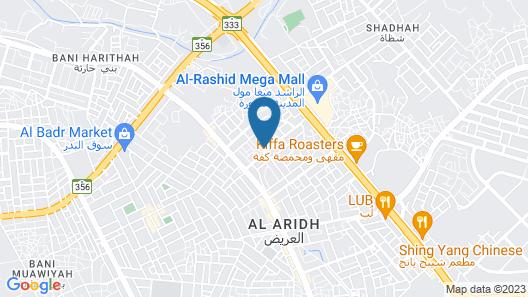 OYO 430 Al Jawad Units Map