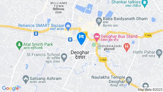 Hotel Mahadev Palace Map