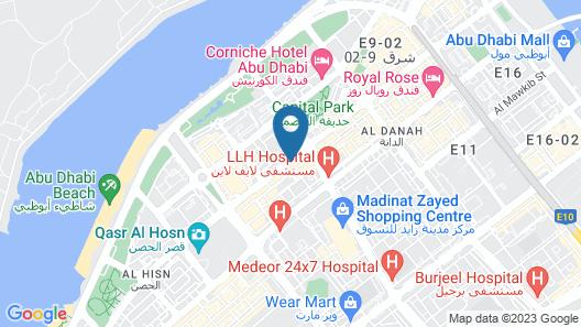 Novel Hotel City Center Map