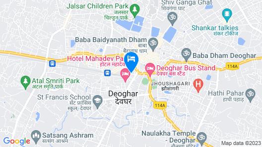 Hotel Baidyanath Map