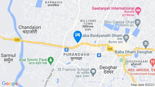 SPOT ON 45094 Hotel Madhu Complex Map