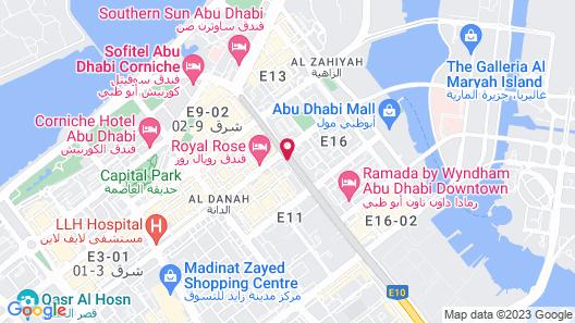 Al Manzel Hotel Apartments Map