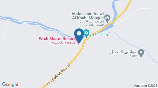 Wadi Sharm Resort Map