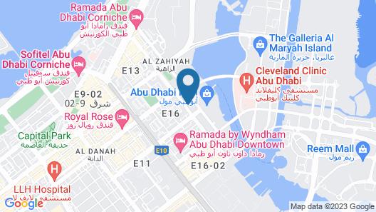 Al Diar Dana Hotel Map