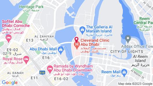 Rosewood Abu Dhabi Map