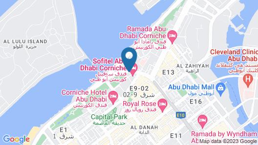 Sofitel Abu Dhabi Corniche Map