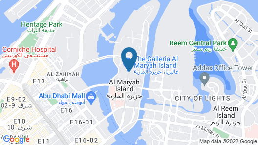Four Seasons Hotel Abu Dhabi at Al Maryah Island Map