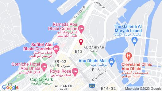 Emirates Plaza Hotel Map