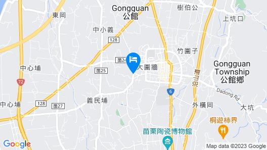 Chusha Motel Map