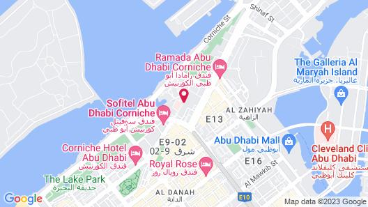Al Diar Mina Hotel Map
