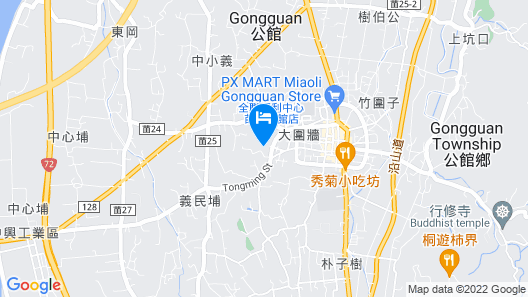 Yuan Motel Map