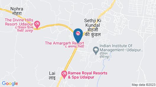 Club Mahindra Udaipur Map