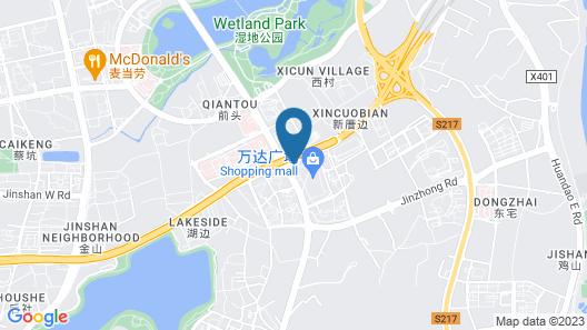 Wojia'er Boutique Hotel- Xiamen Map