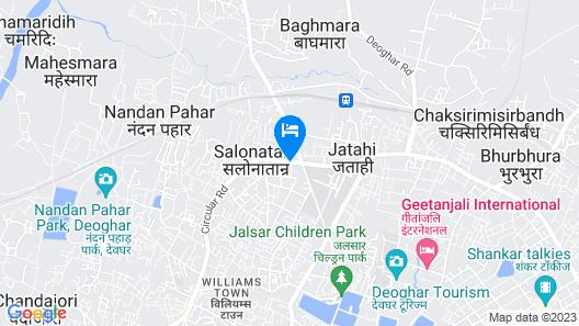 Dhanraj Residency Map