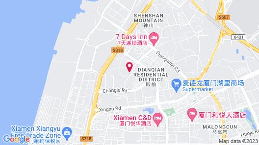 Xianglu Grand Hotel Map