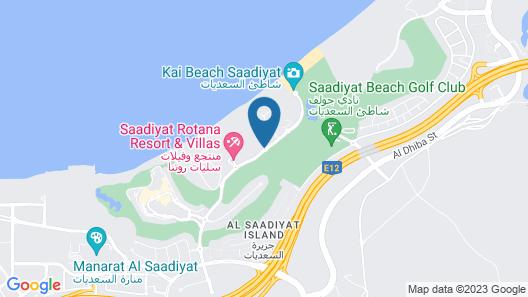 Rixos Premium Saadiyat Island Map