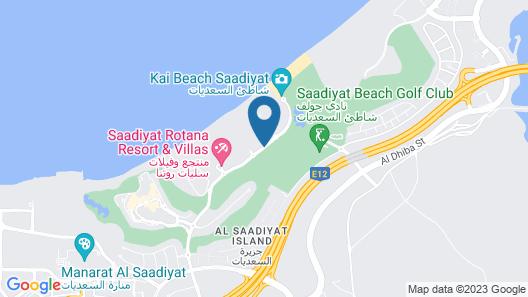 Park Hyatt Abu Dhabi Hotel & Villas Map