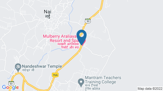 Araliayas Resorts Private Limited Map