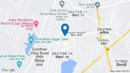 Hopp Inn Map