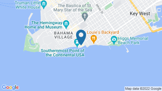 The Southernmost House Hotel - Adults Only Map